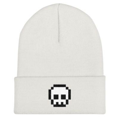 Pixel Skull Beanie