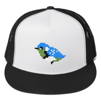 Pixel Bird Trucker Hat
