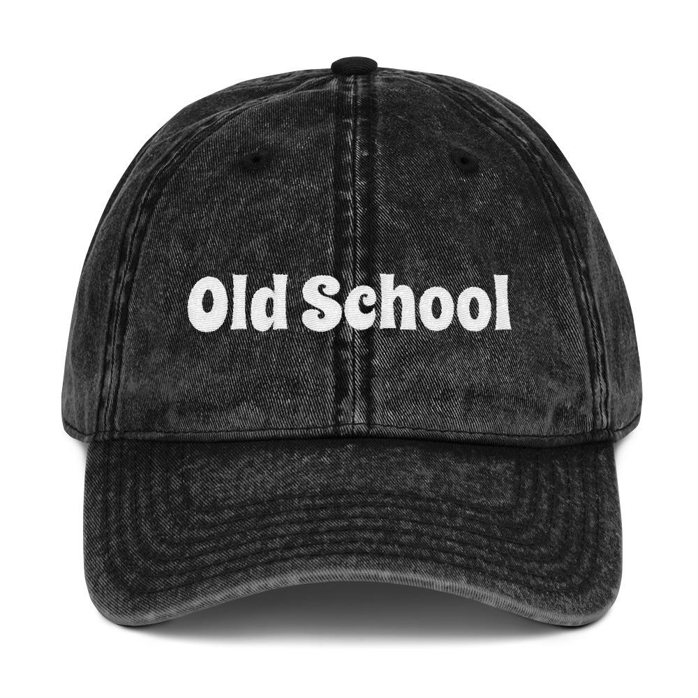 0ec8a00f0992c ... Old School Vintage Cotton Cap. 🔍. 1  2