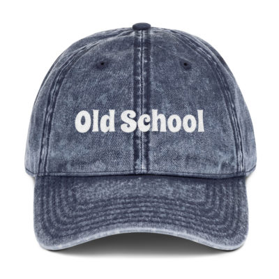 Old School Dad Hat