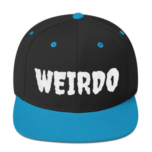 Weirdo Snapback Hat