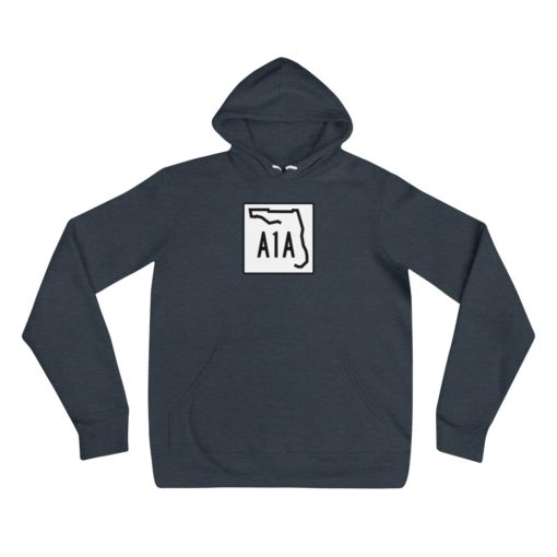 florida a1a road sign hoodie