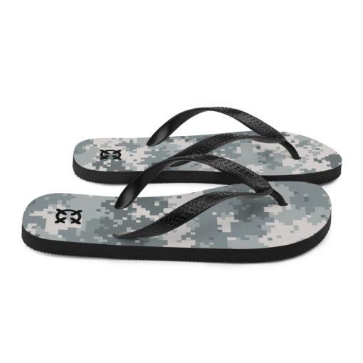 Digital Camo Flip-Flops