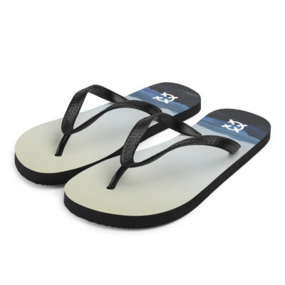 Mountain Range Flip-Flops